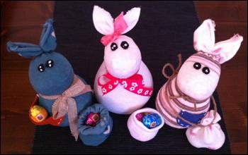 Pasqua calzini e conigli il piccolo mondo di lial for Arte fai da te