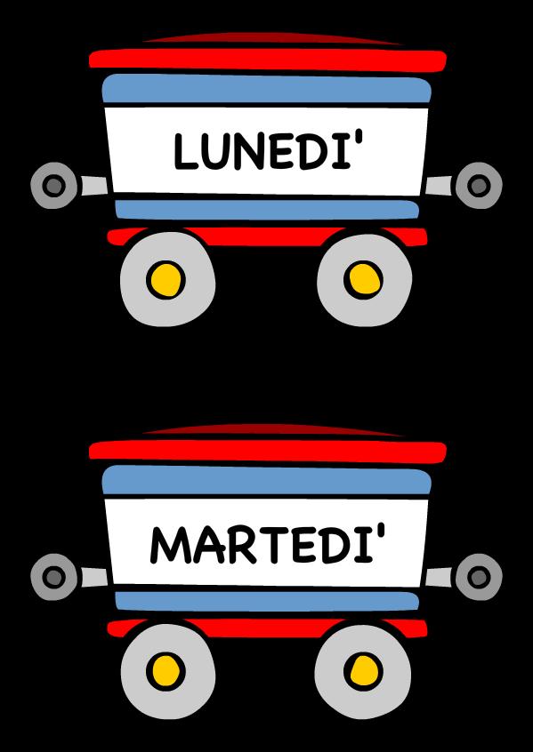 Eccezionale Il Treno della Settimana | Il piccolo mondo di Lialì - Liali.it ZE23