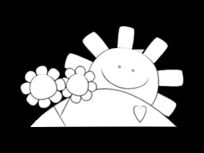 Poesia pasqua di luce il piccolo mondo di lial for Sole disegno da colorare