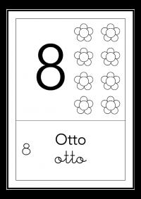 otto - bianco e nero