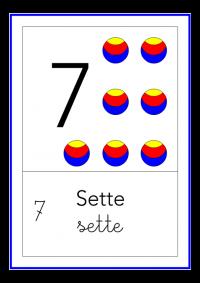 sette - colori
