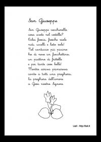 Filastrocca di San Giuseppe