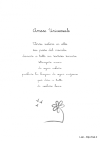 Poesia - Amore Universale