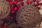 palline con filo e palloncini