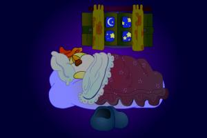 Buonanotte piccolo Cicaluccio